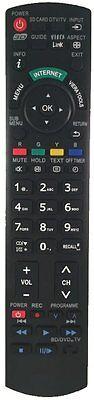 LCD TV Ersatz Panasonic Fernbedienung für TX-L32ET5YW  und TX-L32ETW5W  online kaufen