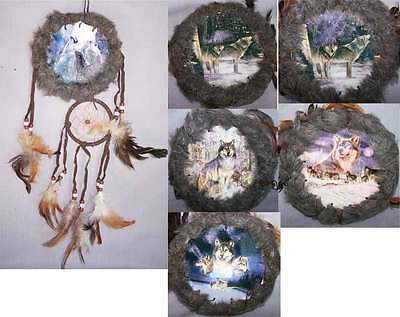 Hand Made Tribal  Dream Catchers Hand Painted Wholesale 6 Pcs ( NpDc213CR-6**)