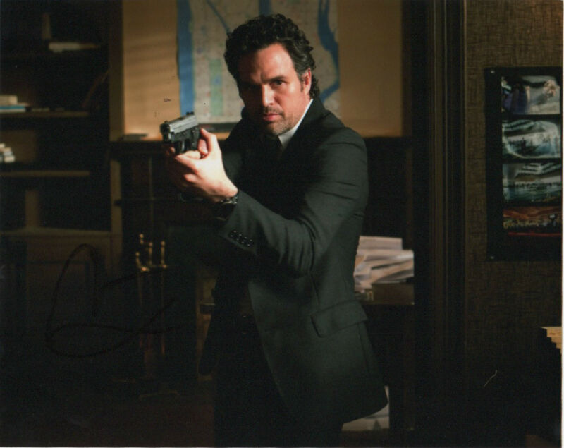 Mark Ruffalo Now You See Me Autographed Signed 8x10 Photo COA
