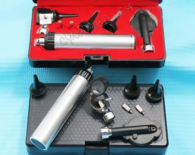 Professional Physician Ophthalmoscope Otoscope Head Lens Wheel Diagnostic Set