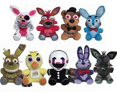 7  Five Nights At Freddys Fnaf Horror Game Plush Dolls Plushie Toys Usa Seller