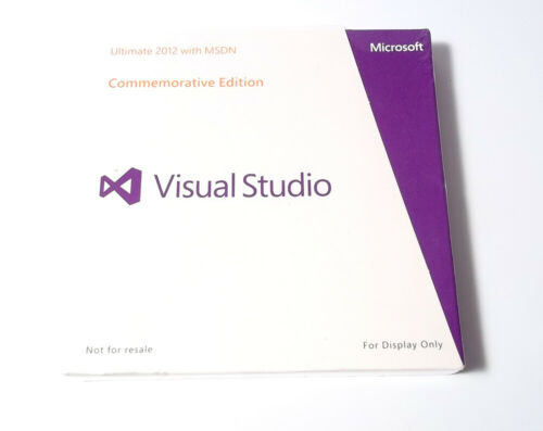 BRAND NEW Genuine Microsoft Visual Studio 2012 Ultimate with MSDN Software