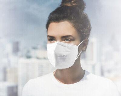 Atemschutzmaske Mundschutz FFP2 m. Nasenbügel 10 St. einzeln verpackt, 3D Design
