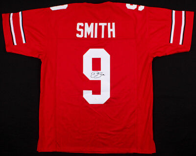b761c9583 Devin Smith Signed Ohio State Buckeyes Jersey (JSA COA) 2015 National  Champions