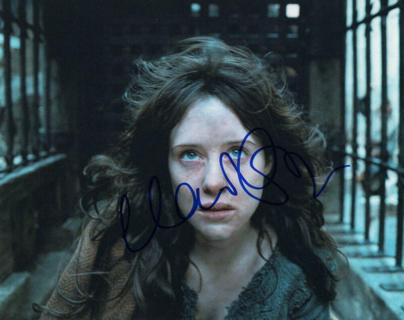 CLAIRE FOY SIGNED AUTOGRAPH 8X10 PHOTO THE CROWN BEAUTY, THE PROMISE BEING HUMAN