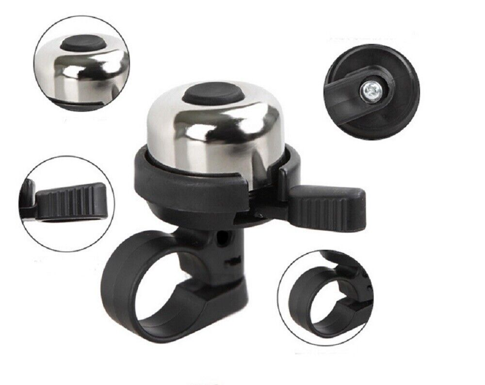 Metal Bicycle Bike Cycling Handlebar Bell Ring Horn Sound Alarm Loud Ring Safety Bells & Horns