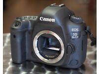 Canon EOS 5D Mark IV 30.4MP Digital SLR Camera - Black - excellent condition