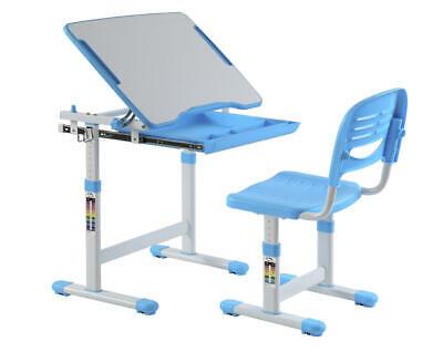 Child Multi-Functional Ergonomic Height Adjustable Desk & Chair Set,PrimeCables®