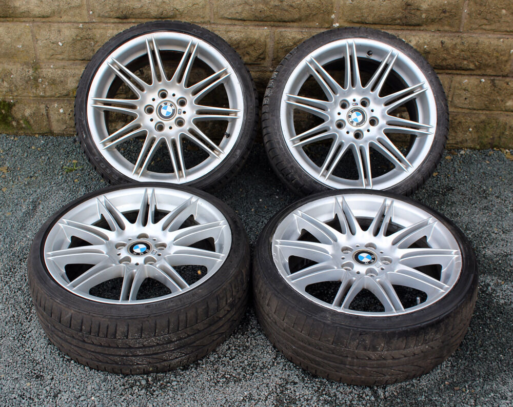 19 Quot Genuine Bmw Mv4 3 Series Alloy Wheels Tyres 5x120 E46