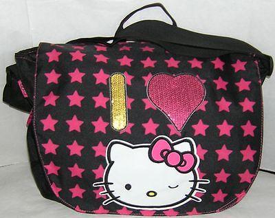 Hello Kitty LAPTOP MESSENGER BAG FREE USA SHIPPING NWT  - Hello Kitty Laptop Bag