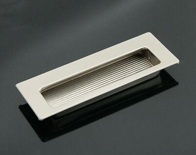 Rectangular Flush Pull Drawer Pulls Sliding Door Handle Steel / Grey - FP005