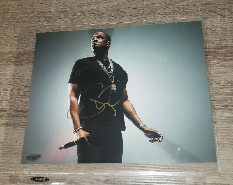 Jay Z  signed Autographed  8x10 w/ COA
