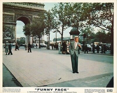 FRED ASTAIRE Arch De Triumph Original Vintage FUNNY FACE Paramount Color Photo