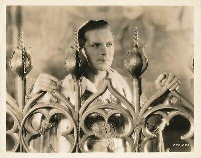 DENNIS KING Original Vintage THE VAGABOND KING Paramount Pictures Portrait Photo