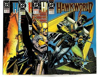 Hawkworld #1-16, plus Annual #1 (1990-91) DC VF/NM to NM-