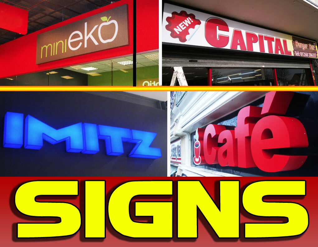 Shop Front Signs Fascia Signs Outdoor Signage Sign Makers