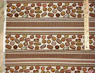 Chocolat By Spx Chocolate Candy Truffles Fabric Sampler By The 23 Repeat 21420
