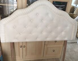 Cream Quilted Headboard