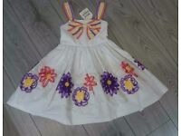 NEW Girls David Charles Designer dress 5yrs