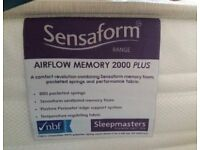 Bensons for Beds Sensaform Memory 2000 double mattress