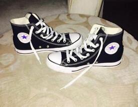 Black & White converse