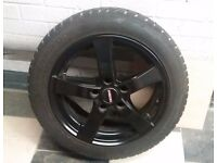 Winter Tyres + Wheels (16 inch, 5x114, Honda Fitment)