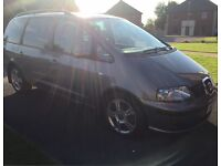 05 SEAT ALHAMBRA 1.9 TDI STYLANCE 7 SEATER P/EX WELCOME
