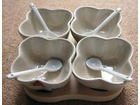 Ceramic 9-piece Dip Set