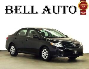 2012 TOYOTA COROLLA CE CONVENIOS/ PKG 5 SPEED/ NO DAMAGES