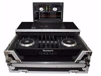 Numark Mixdeck Controller & DJ Flight Case+Laptop Shelf