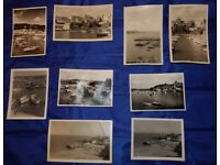 9 Vintage Photo's Of Unknown Boat Marina's