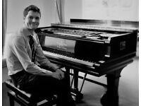 Piano Lessons in Cardiff - all ages (inc.adult) and abilities - Jazz and Classical (FREE TRIAL)