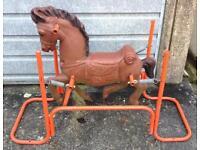 Vintage Spring Rocking Horse