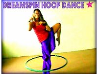 Hula Hoop Beginners 6 week course Monday 22nd October 6.00pm