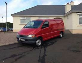 1998 Toyota Hiace LWB POWERVAN diesel PSVD 1 year excellent condition