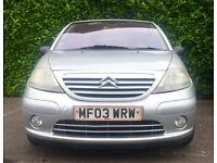 3 MONTHS WARRANTY 95000 MILES CITROEN C3 EXCLUSIVE (ALLOYS CRUISE CONTROL) 1.6 PETROL 110 BHP