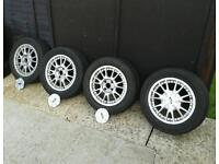 Ford fiesta zetec alloy wheels.