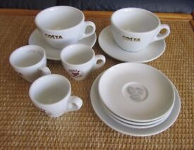 Costa Coffee Cups & Saucers and Espresso Cups & Saucers VGC