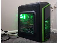 i7 Gaming PC i7 4790 8GB RAM R9 290 GPU (GTX 1060) Fortnite Fall Guys CoD WarZone Like New Condition