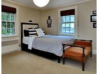 Queen Sized mattress, headboard and bed frame