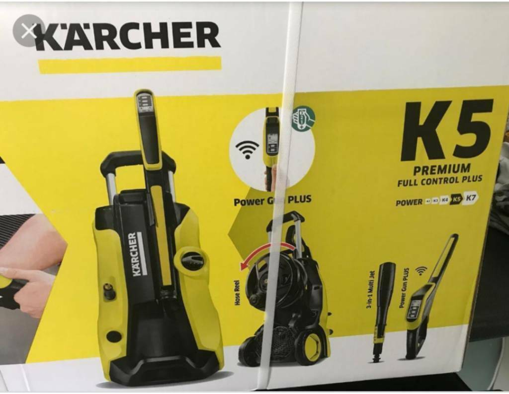 brand new karcher k5 premium full control plus home. Black Bedroom Furniture Sets. Home Design Ideas
