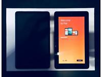 Pair of Amazon Fire Tablets (2) w/ Cases