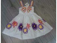 Girls NEW DESIGNER dress 5 YEARS by David Charles