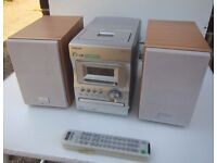 Sony CMT-M373NT Micro Hifi Stereo - Mindisc CD Tape & Radio