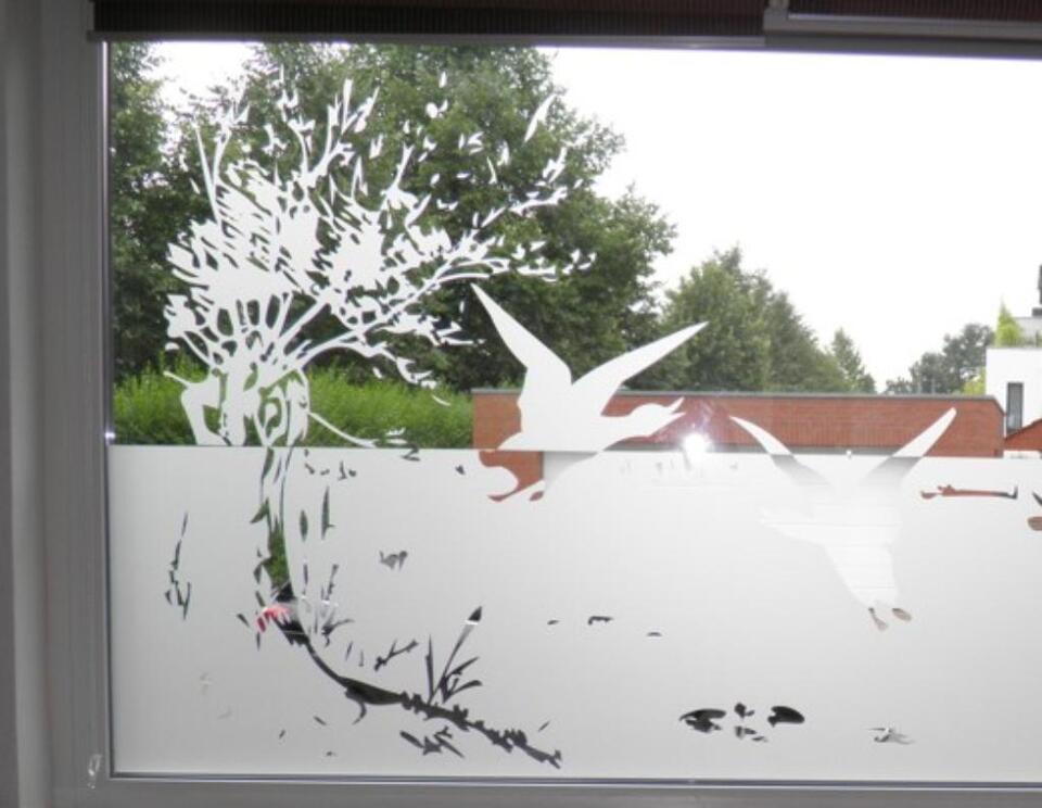Sichtschutzfolie Glasdekorfolie Fensterfolie in Neuenkirchen