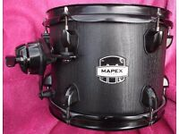 Mapex Mars 10'' x 7'' Rack Tom With Fixing Bracket & Clamp In Nightwood