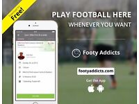 Play football games whenever you want. Join Footy Addicts for Free!