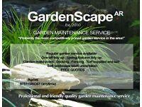 GARDENSCAPE..GARDENER/GARDENING/LANDSCAPING/MAINTENANCE SERVICE