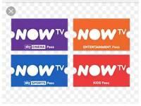 Now tv various passes movies sports entertainment kids