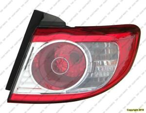 Tail Light Passenger Side Hyundai Santa Fe 2010-2012